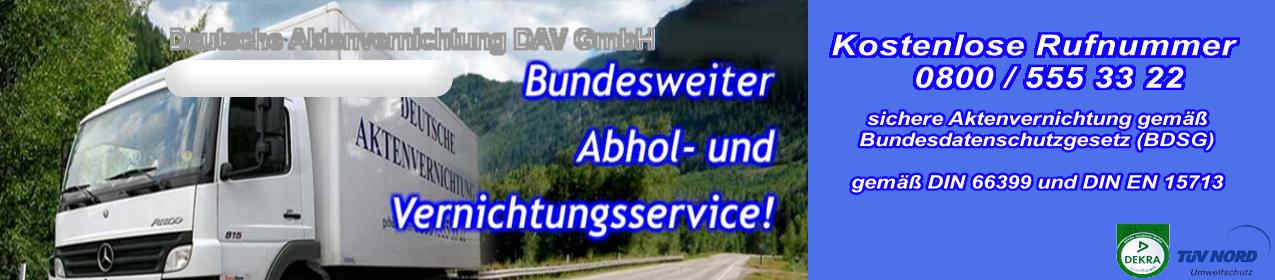 Header deutsche aktenvernichtung dav gmbh