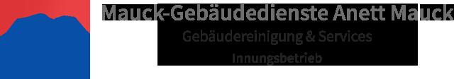 Logo mauck gebaeudereinigung