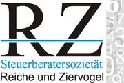 Middle logo reiche ziervogel