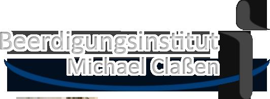 Logo beerdigung michael cla en