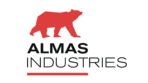 Middle logo almas industries