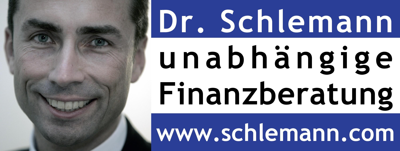 Logo dr. schlemann finanzberatung mit foto k