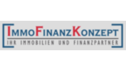 Middle logo immofinanzkonzept
