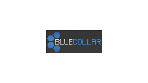 Middle bluecollar logo