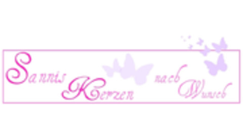 Middle logo sannis kerzen