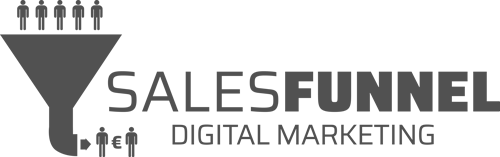 Sales funnel grey
