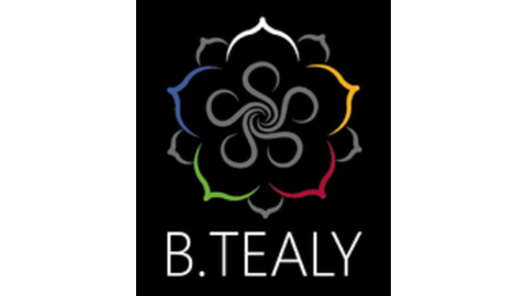 Middle b.tealy logo