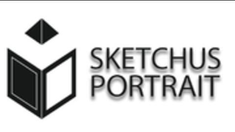 Middle sketchus portrait logo quer