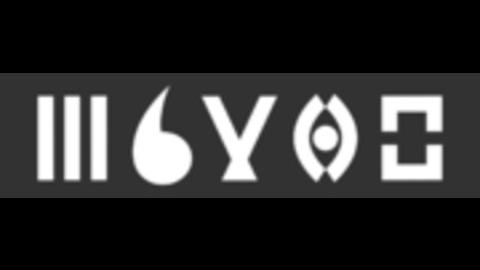 Middle logo grau background