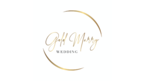 Middle logo gold marry rund