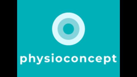 Middle physioconcept logo 4 3 universell vertikal petrol rgb