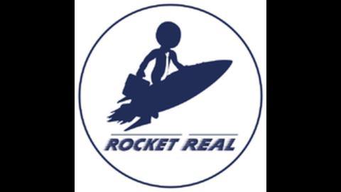 Middle rocketreal logo rund