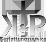 Middle kp bestattungen logo branding kp