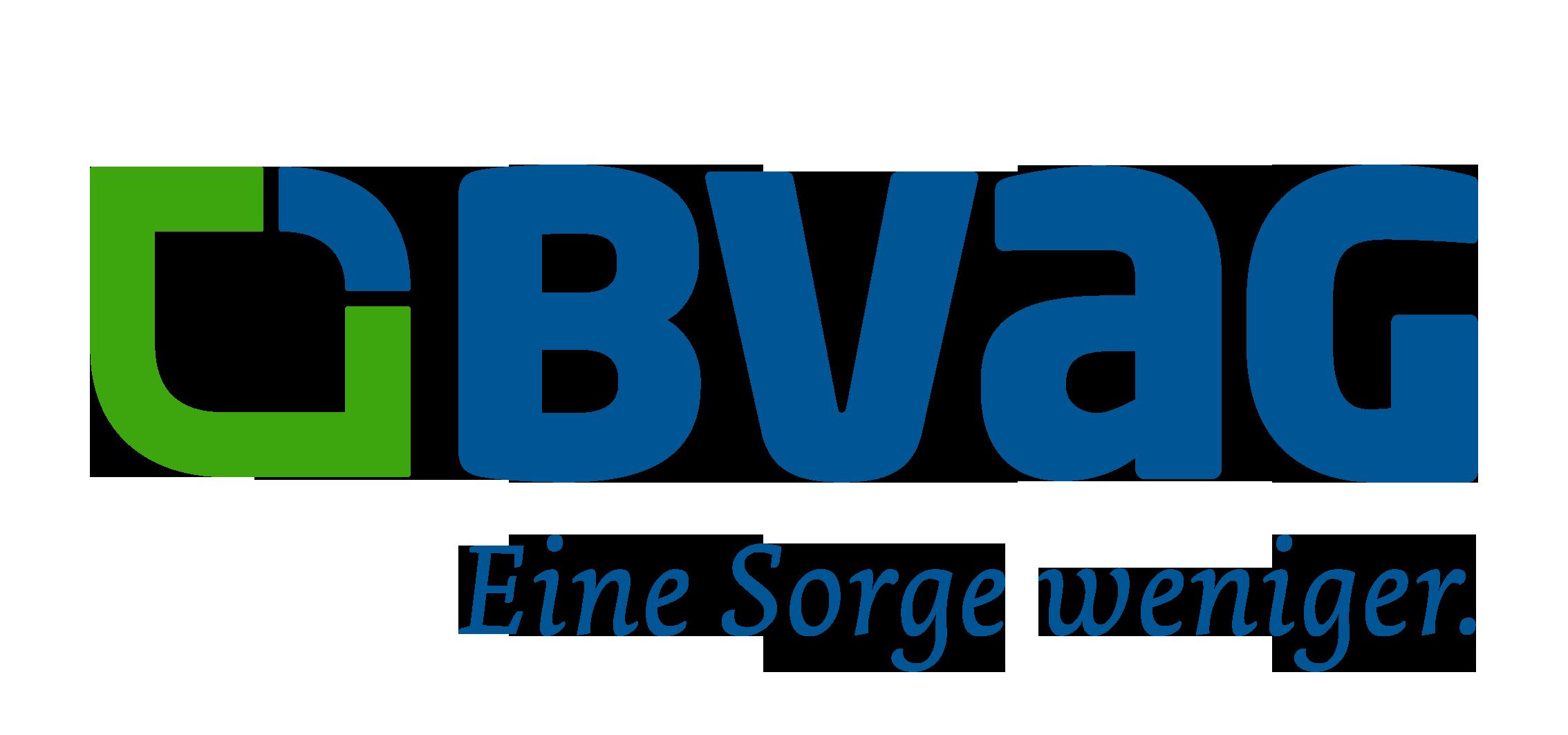 Bvag logo claim rgb