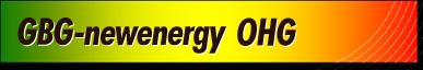 Branding gbg newenergy ohg