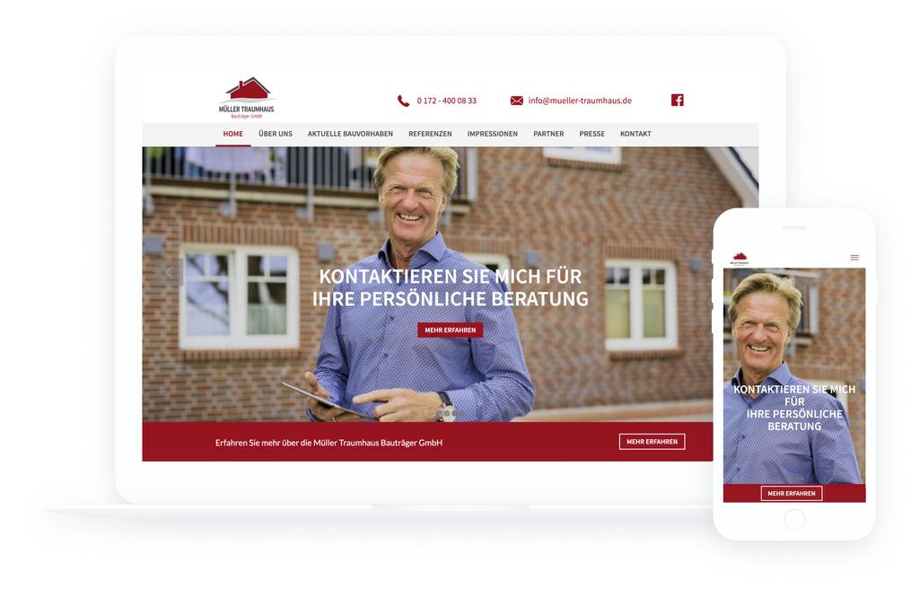 Full perfekte webseite website