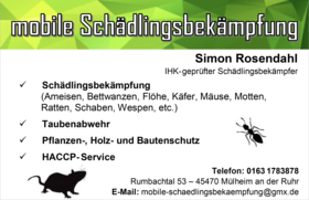 mobile Schädlingsbekämpfung - Bild 2